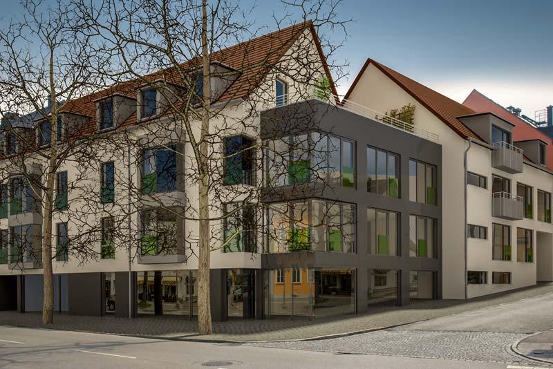 Wohn- und Geschäftshaus Dachau