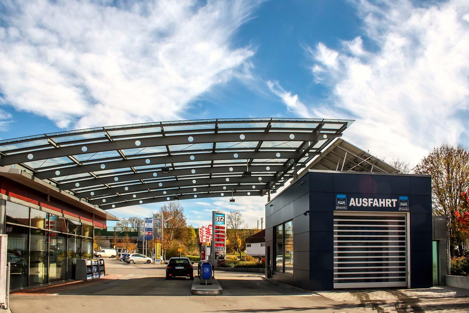 Gewerbebau Tankstelle Vierkirchen